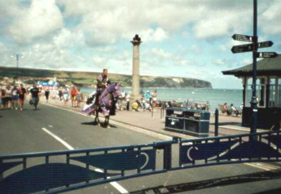 Swanage seafront